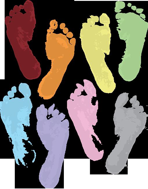 footprintsrainbow